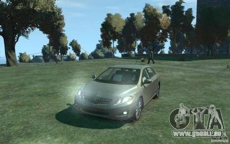 Toyota Corolla 2008 pour GTA 4