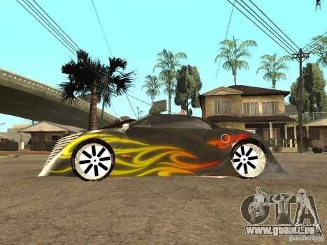 Thunderbold SlapJack für GTA San Andreas zurück linke Ansicht