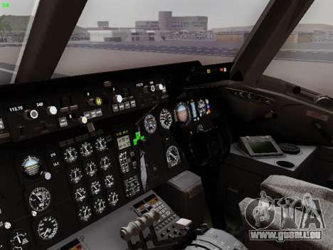 McDonell Douglas DC-10-30 PanAmerican Airways für GTA San Andreas obere Ansicht