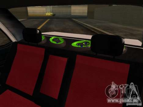 Tofas Sahin DRIFT pour GTA San Andreas vue de dessus
