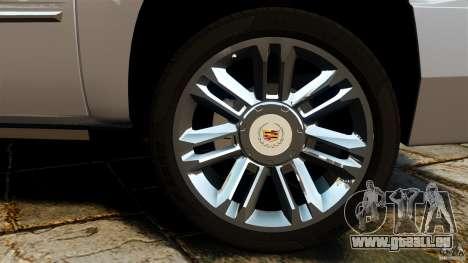 Cadillac Escalade ESV 2012 für GTA 4 Seitenansicht