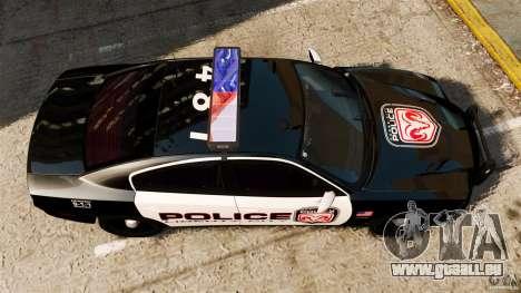Dodge Charger RT Max Police 2011 [ELS] für GTA 4 rechte Ansicht