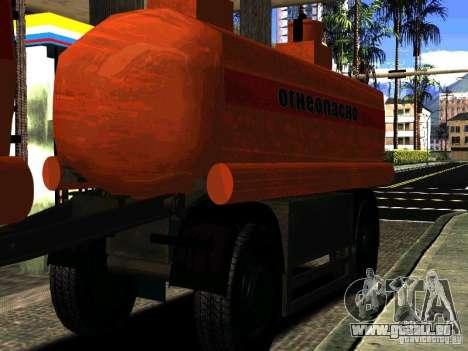 MAZ-533702 Anhänger LKW für GTA San Andreas