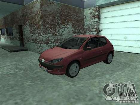 Peugeot 206 HDi 2003 pour GTA San Andreas