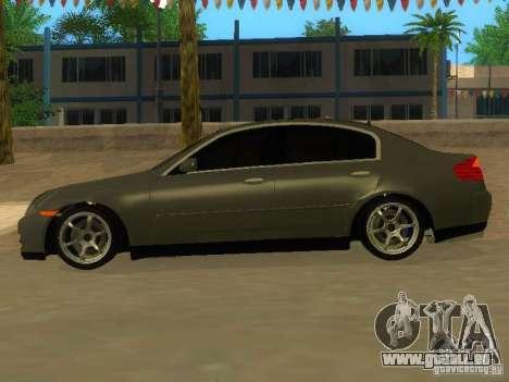 Nissan Skyline 300 GT pour GTA San Andreas laissé vue