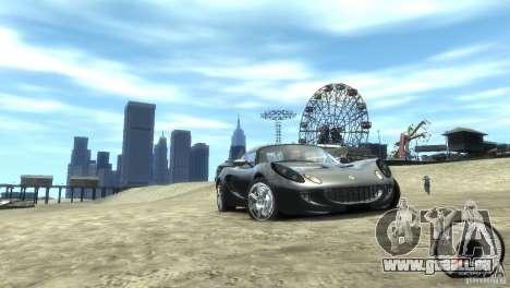 Lotus Elise v2.0 pour GTA 4 Vue arrière de la gauche