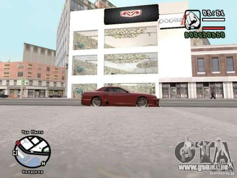 Dodge Salon für GTA San Andreas dritten Screenshot
