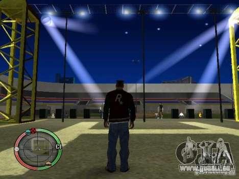 Concert de l'AK-47 v2 pour GTA San Andreas cinquième écran
