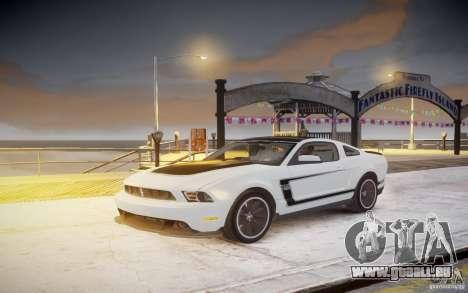 Ford Mustang 2012 Boss 302 v1.0 pour GTA 4