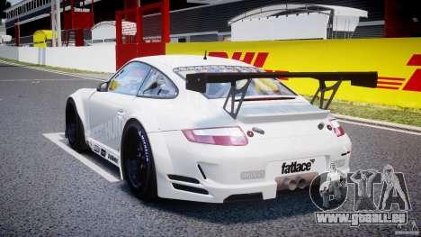Porsche GT3 RSR 2008 SpeedHunters pour GTA 4 Vue arrière de la gauche