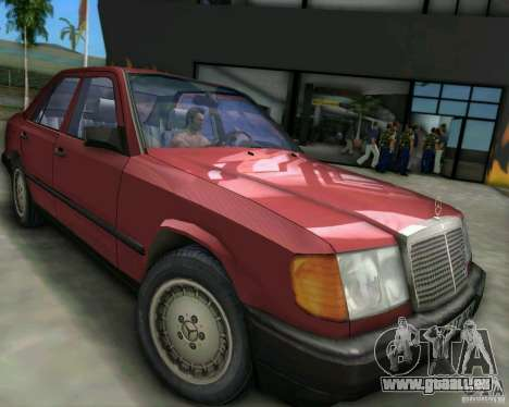 Mercedes-Benz E190 für GTA Vice City linke Ansicht
