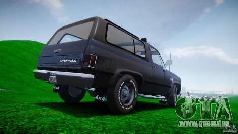 Chevrolet Blazer K5 Stock pour le moteur de GTA 4