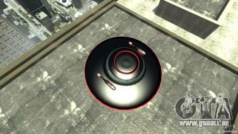 UFO neon ufo red für GTA 4 rechte Ansicht