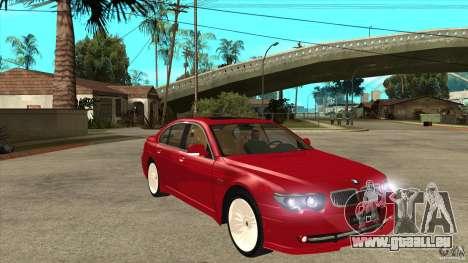 BMW Alpina B7 pour GTA San Andreas vue arrière