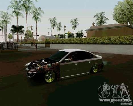 Subaru Legacy JDM pour GTA San Andreas laissé vue