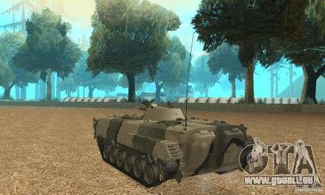 BMP-1 Camo für GTA San Andreas zurück linke Ansicht