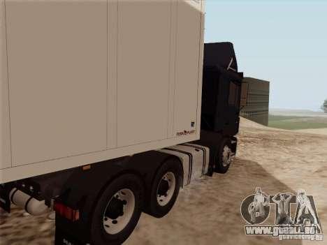 MAN F2000 6x4 pour GTA San Andreas vue de droite