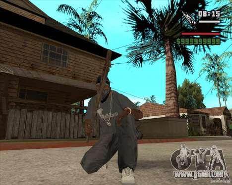 Armes de Pak de Fallout New Vegas pour GTA San Andreas deuxième écran