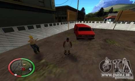 NEW STREET SF MOD pour GTA San Andreas sixième écran