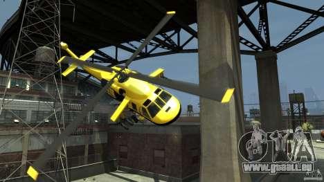 Yellow Annihilator pour GTA 4 est une vue de dessous