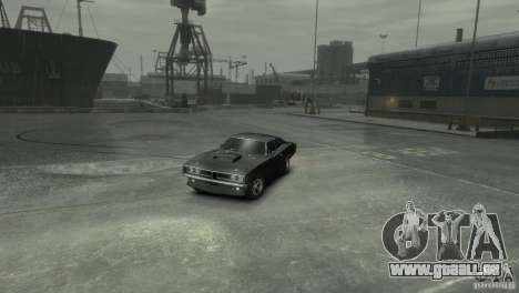 Dodge Charger RT 1969 Tun für GTA 4