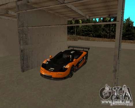 McLaren F1 pour GTA San Andreas vue de droite
