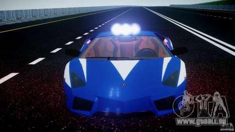 Lamborghini Reventon Polizia Italiana für GTA 4 Räder