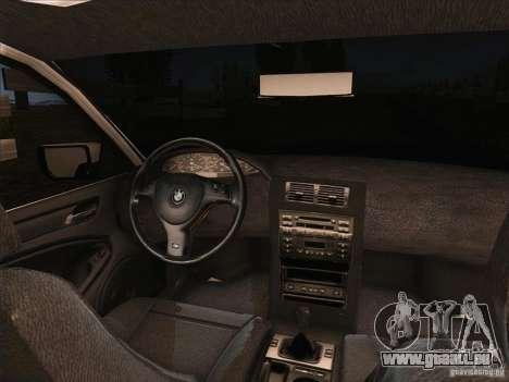 BMW M3 E46 Touring pour GTA San Andreas vue arrière