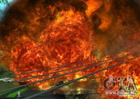 Neue Auswirkungen von Explosionen für GTA San Andreas siebten Screenshot