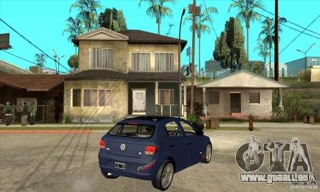 Volkswagen Gol Trend 1.6 für GTA San Andreas rechten Ansicht