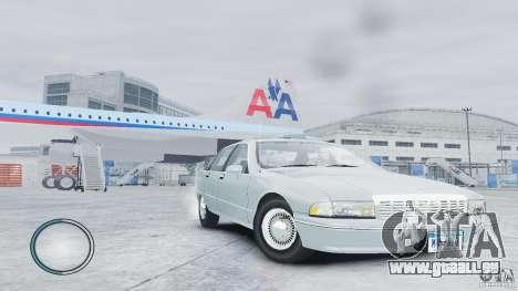 Chevrolet Caprice 1993 pour GTA 4 est un droit