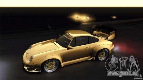 Porsche 993 RWB für GTA San Andreas Rückansicht