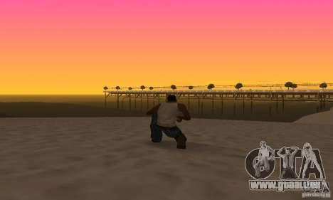 Sunshine ENB Series by Recaro pour GTA San Andreas cinquième écran