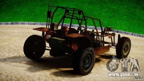 Half Life 2 buggy pour GTA 4 Vue arrière de la gauche