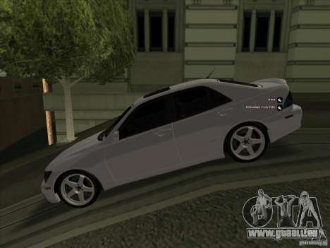 Lexus IS300 für GTA San Andreas linke Ansicht
