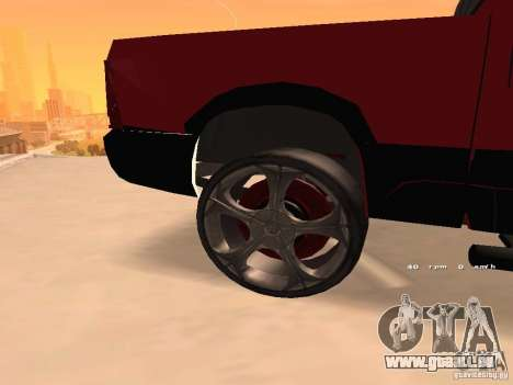 Dodge Ram 2010 für GTA San Andreas rechten Ansicht