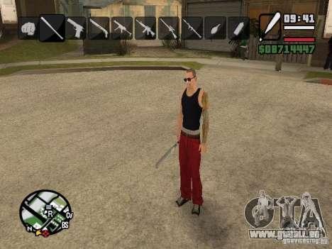 Symbole beim Ändern von Waffen für GTA San Andreas dritten Screenshot