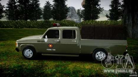 Chevrolet D20 Brigada Militar RS für GTA 4 Innenansicht