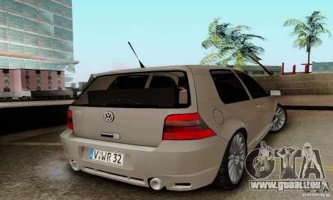 Volkswagen Golf GTI R32 pour GTA San Andreas laissé vue