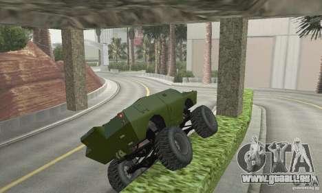 Trail Monster V.1.0 für GTA San Andreas Seitenansicht