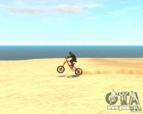 Mountain bike für GTA 4 Rückansicht