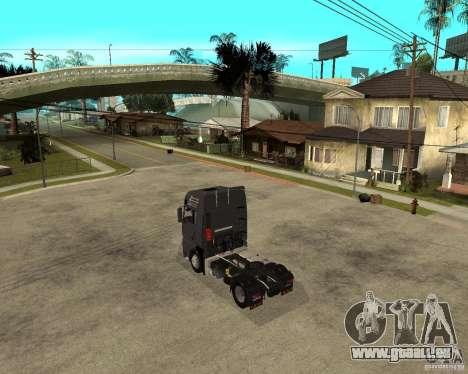 Man TGA pour GTA San Andreas laissé vue