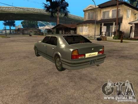 HD Sentinel pour GTA San Andreas laissé vue