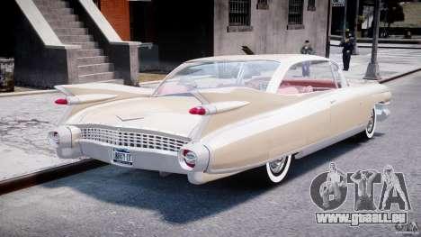 Cadillac Eldorado 1959 (Lowered) für GTA 4 Seitenansicht