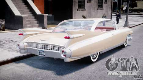 Cadillac Eldorado 1959 (Lowered) pour GTA 4 est un côté