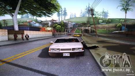 Piétons s'accrochent pour auto pour GTA San Andreas cinquième écran