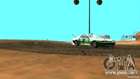 Elegy v0.2 pour GTA San Andreas sur la vue arrière gauche