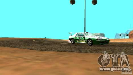 Elegy v0.2 für GTA San Andreas zurück linke Ansicht