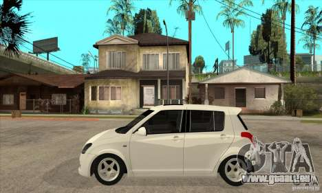 Suzuki Swift 4x4 CebeL Modifiye pour GTA San Andreas laissé vue