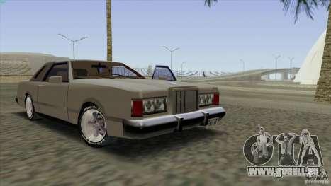Virgo Continental pour GTA San Andreas salon